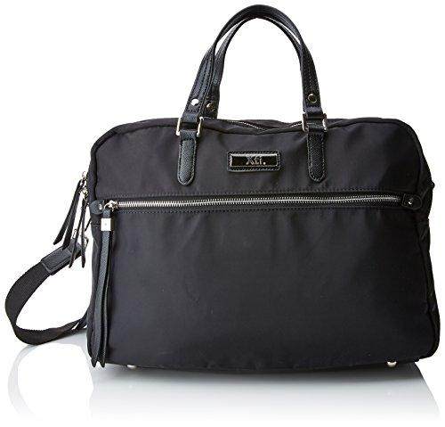 XTI 85937, Bolso maletín para Mujer, Negro (Black), 43x30x11 cm (W x H x L)