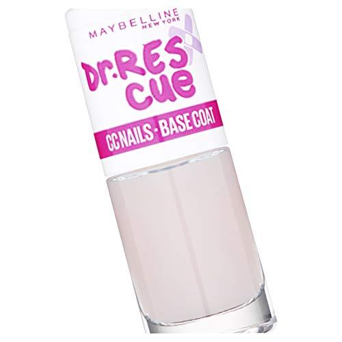 Maybelline New York Dr.Rescue CC Nails Base Coat, Esmalte de Uñas