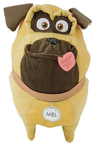 MEL Felpa Peluche XXL Gigante 45cm ORIGINAL de PETS La vida secreta de tus Mascotas