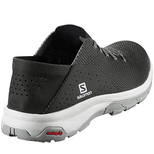 Salomon Tech Lite, Water Shoes Hombre, Gris (Quiet Shade/Black/Alloy), 44 2/3 EU