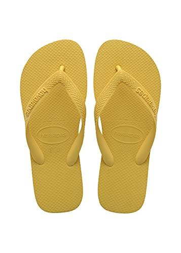 Havaianas Top, Chanclas Unisex Adulto, Gold Yellow, 37/38 EU