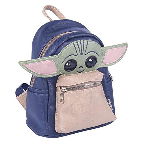 Cerdá Mochila Baby Yoda 3D-Licencia Oficial Star Wars, Cuero: sintético, Multicolor, Grande