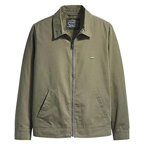 Levi's Haight Harrington Jacket, Chaqueta Hombre, Green (Olive Night 0001), L