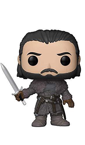 Funko 29166 GOT S8 29166 Game of Thrones Jon Snow Beyond The Wall Pop Vinyl Figure, Multi