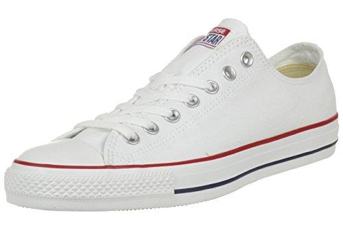 Converse All Star Ox Canvas Zapatillas Blancas- UK 3.5
