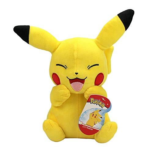 PoKéMoN Peluche Pokemon BO36766, Pikachu #5 (20 cm), Realista, Supersuave, Realista, para abrazar y amar, Multicolor