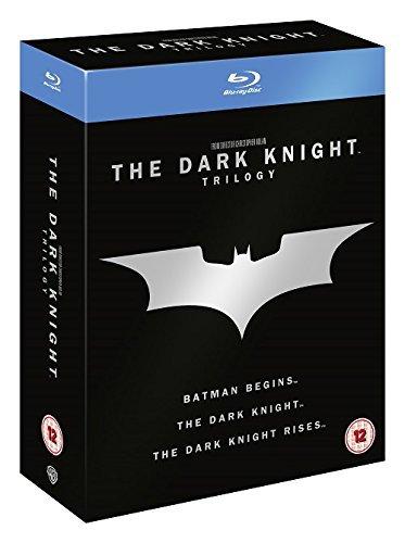 Dark Knight Trilogy - Dark Knight Trilogy (5 Blu-Ray) [Edizione: Regno Unito] [Italia] [Blu-ray]
