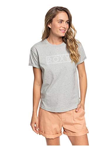 Roxy Epic Afternoon - Camiseta para Mujer Camiseta, Mujer, Heritage Heather, M