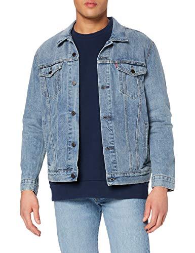 Levi's The Trucker Jacket, Chaqueta vaquera Hombre, Icy, L