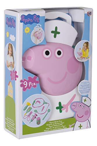 Tavitoys Peppa Pig maletín enfermera 26x17cm, multicolor (1680651)