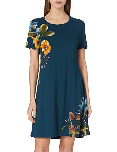 Desigual Vest_Las Vegas Vestido Casual, Azul, XS para Mujer