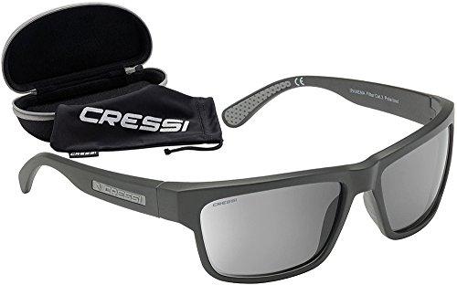 Cressi Ipanema Sunglasses Gafas, Unisex Adulto, Negro/Negro, Talla única