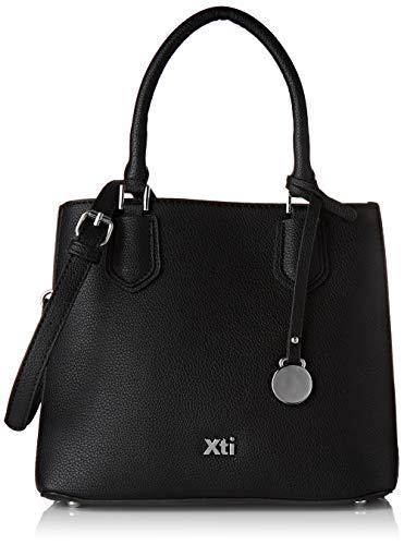 XTI 86253.0, Shopper para Mujer, Negro (Negro), 25x21x12 cm (W x H x L)