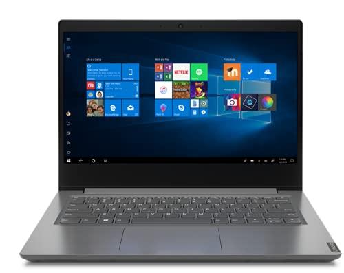 Lenovo V14 IGL - Ordenador Portátil 14' FullHD (Celeron N4020, 4GB RAM, 128GB SSD, Intel UHD Graphics Win10 Pro for EDU), Gris - Teclado QWERTY español
