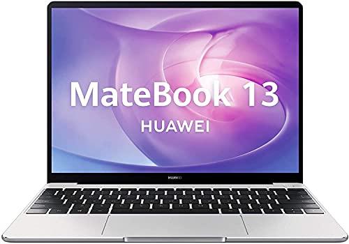 HUAWEI MateBook 13 - Ordenador portátil con pantalla de 13'' 2K (AMD Ryzen 7 3700U, 16GB RAM, 512GB SSD, Windows 10 Home), Color Gris - Teclado QWERTY Español