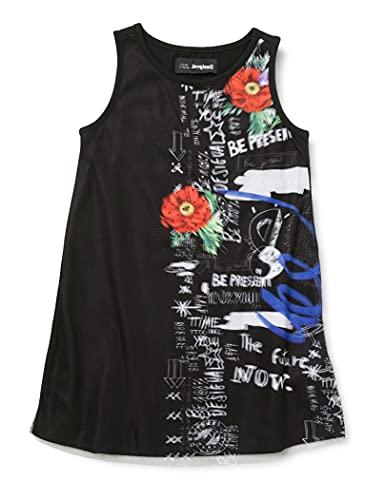 Desigual Vest_Grace Vestimenta Casual, Black, 13/14 para Niñas
