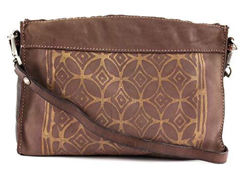 Caterina Lucchi Taormina Print Crossbody Bag Mauve