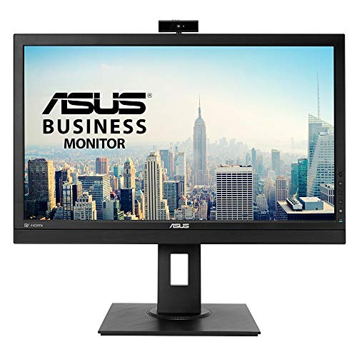 ASUS BE24DQLB - Monitor 60,5 cm (24'   60 Hz), 1920 x 1080 Pixeles, Full HD, LCD, 5 ms, IPS FHD + WEBCAM + USB 3.0, Ajustable en altura, Negro