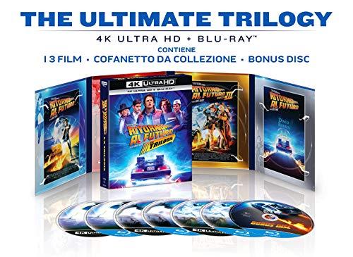Ritorno Al Futuro Trilogia 35th Anniversary Collec. (4k+Br) ( Box 7 4k+Br ) [Italia] [Blu-ray]