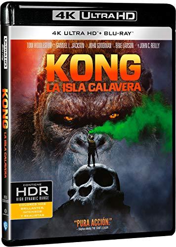 Kong: La Isla Calavera 4k UHD [Blu-ray]
