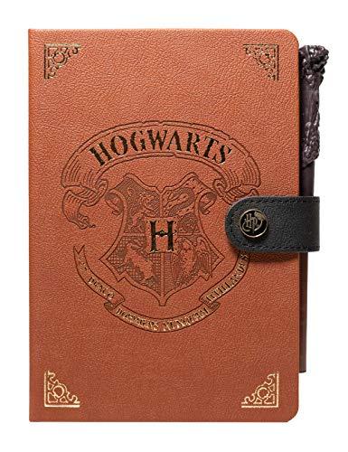 Grupo Erik CBA5001- Cuaderno A5 Harry potter. Bullet Journal Hogwarts con varita bolígrafo