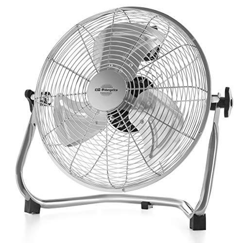 Orbegozo PW 1332 -Ventilador industrial Power Fan, 3 velocidades, aspas metálicas, inclinación regulable, asa de transporte, 45 W