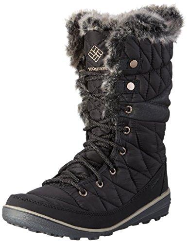 Columbia Heavenly Omni-heat Botas de invierno para mujer, Negro(Black Kettle), 38 EU