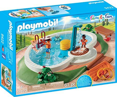 Playmobil- Family Fun Piscina con Accesorios, Multicolor, Talla Única (Geobra Brandstätter 9422)