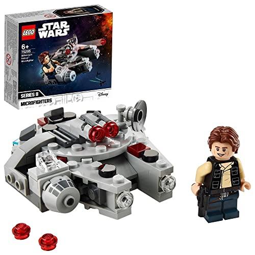 LEGO75295StarWarsMicrofighter:HalcónMilenario,JugueteconFiguradeHanSoloparaNiñosyNiñasaPartirde6Años