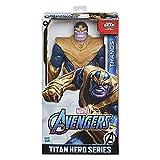 Avengers- Figura Titan Hero Deluxe Thanos (Hasbro E73815L0)