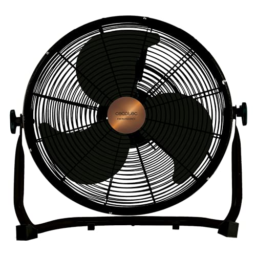 Cecotec Ventilador Industrial EnergySilence 3000 Pro, Negro, 90 W