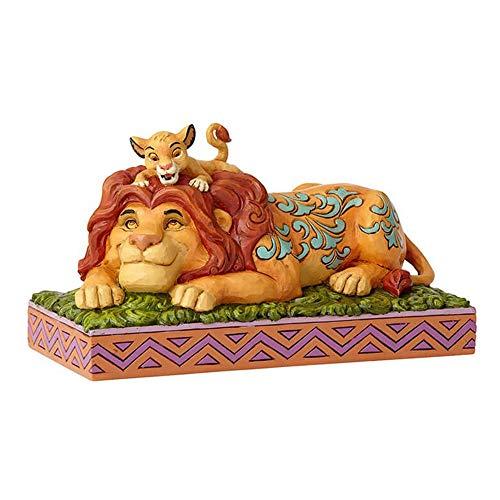 Disney Traditions, Figura de Simba y Mufasa de 'El Rey León', para coleccionar, Enesco