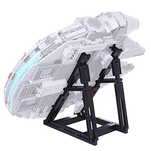 HYZM Expositor para Lego 75257 Halcón Milenario (no incluido), 134 unidades