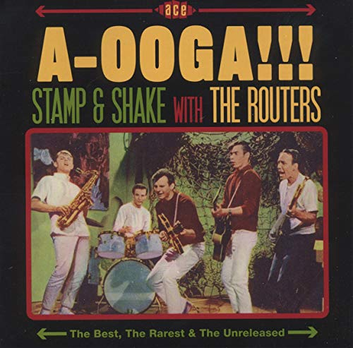 A-Ooga!!! Stamp & Shake With The Routers