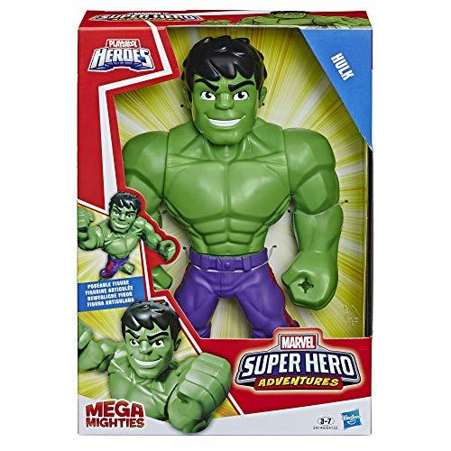 Hasbro Playskool Heroes Mega Mighties Avengers Hulk, Multicolor, E4149ES0