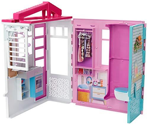 Barbie - Casa de muñecas con accesorios, Multicolor (Mattel FXG54), Embalaje estándar