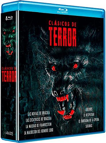 Clásicos del terror (Pack) - BD [Blu-ray]