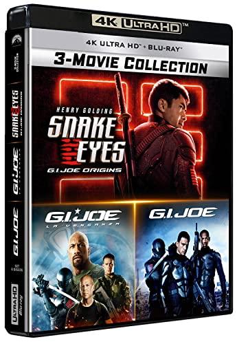 G.I. Joe - Colección 3 Películas (4K UHD) - BD [Blu-ray]