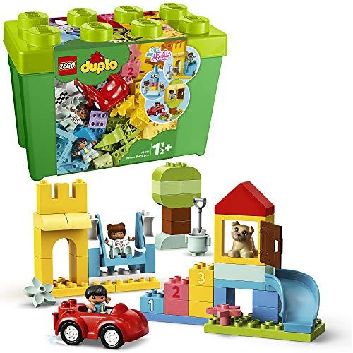 LEGO 10914 Duplo Classic Caja de Ladrillos Deluxe, Juego Educativo, Juguete de Construcción para Bebes, Niños y Niñas +1,5 años