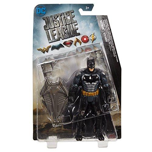JUSTICE LEAGUE- Figura básica Batman Tactical Suit 15 cm (Mattel FGG61)