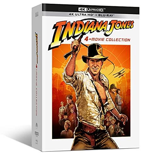 Indiana Jones 4-Movie Collect. ( Box 4 4k+4 Br+ Bonus Disc ) [Italia] [Blu-ray]
