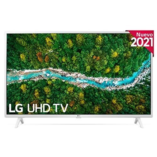 LG 43UP7690-ALEXA 2021-Smart TV 4K UHD 108 cm (43') con Procesador Quad Core, HDR10 Pro, HLG, Sonido Virtual Surround, HDMI 2.0, USB 2.0, Bluetooth 5.0, WiFi