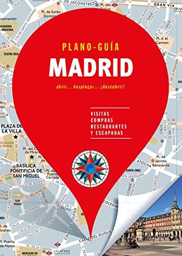 Madrid (Plano-Guía): Visitas, compras, restaurantes y escapadas