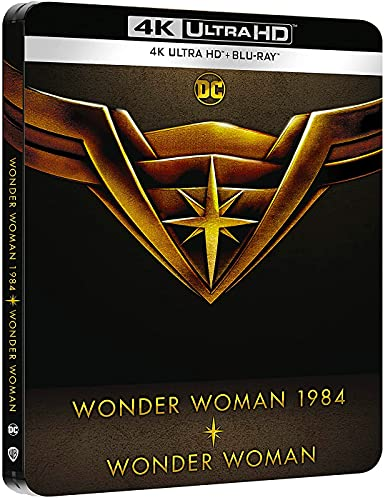 Wonder Woman (2017) + Wonder Woman 1984 (2020) - Steelbook 4k UHD + Blu-ray [Blu-ray]