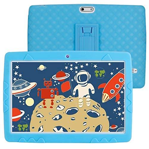 Tablet para Niños 10 Pulgadas Android 10.0 3G Dual SIM Card 3GB RAM 32GB Certificado por Google GMS 1.6Ghz Tablet Infantil Quad Core Batería 5000mAh Tablet PC Netflix Juegos Educativos