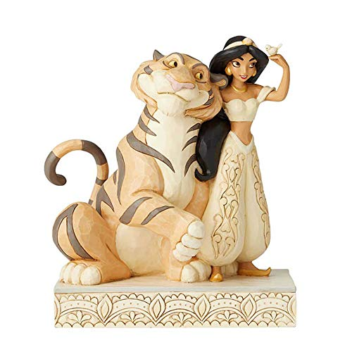 Disney Traditions, Figura de Jazmin y el tigre Raja de' Aladín', para coleccionar, Enesco