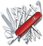 Victorinox SwissChamp Navaja Swiss Champ, ROJA 16795, Rojo, Acero Inoxidable, 91mm