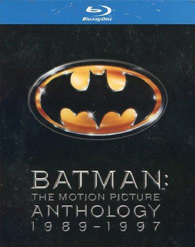 Batman - The motion picture anthology 1989 - 1997 [Italia] [Blu-ray]