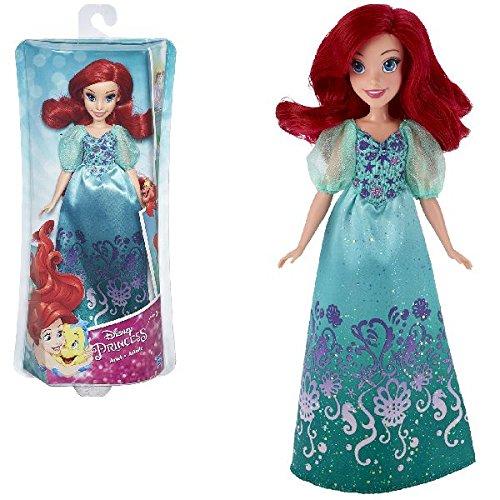 Disney Princess Muñeca, Color Verde y Rojo (Hasbro B5285ES2)