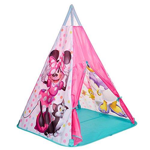 Tienda de campaña, Tipi con diseño de Minnie Mouse, Tienda India, para Jugar